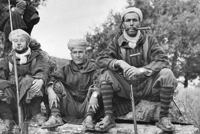 Главные «отморозки» Второй мировой войны   Марокканский экспедиционный корпус