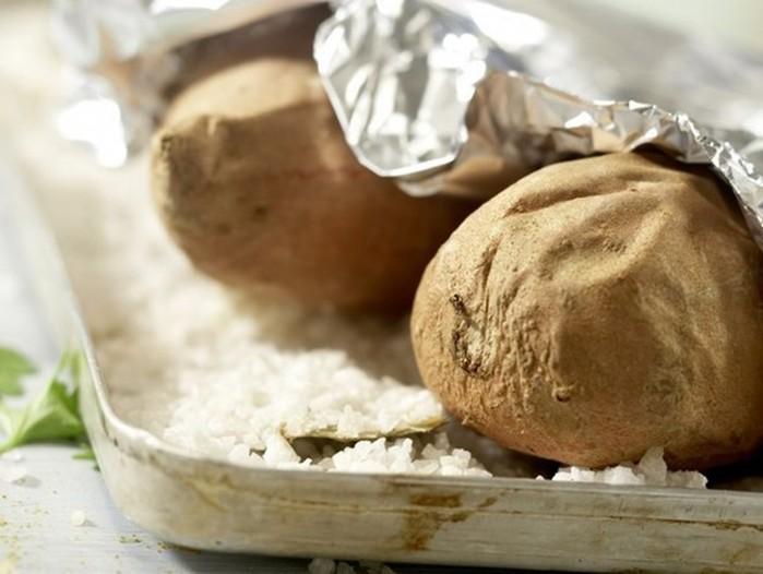 Стейки со сладким картофелем и овощами