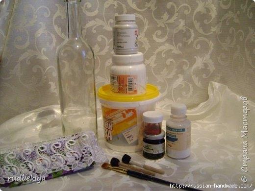 Декорирование бутылок в технике Сицилийское Кружево (3) (520x390, 106Kb)