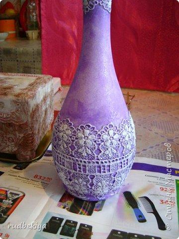 Декорирование бутылок в технике Сицилийское Кружево (13) (360x480, 168Kb)
