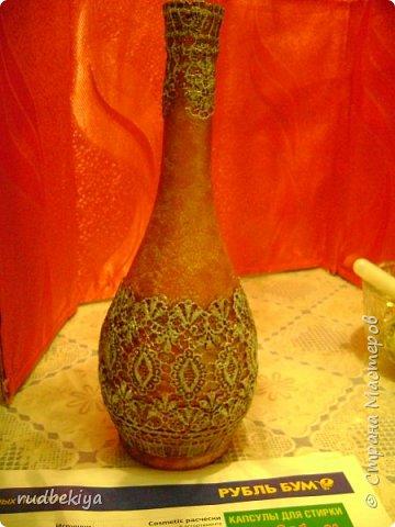 Декорирование бутылок в технике Сицилийское Кружево (15) (360x480, 179Kb)
