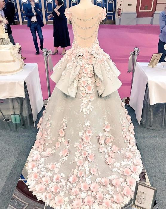 торт свадебное платье 2 (556x700, 461Kb)