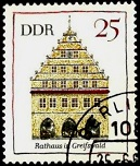 YtDD 1077  Rathaus in Greifswald (129x152, 21Kb)