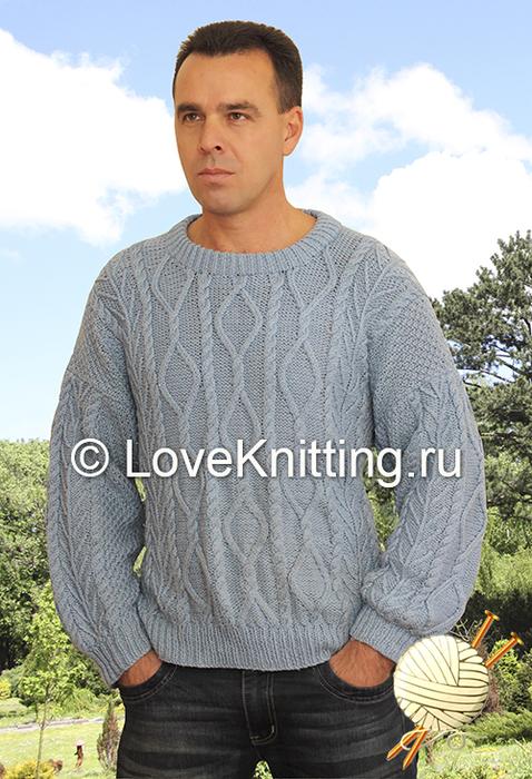 11 Автор Муж пуловер МТ2 (478x700, 386Kb)