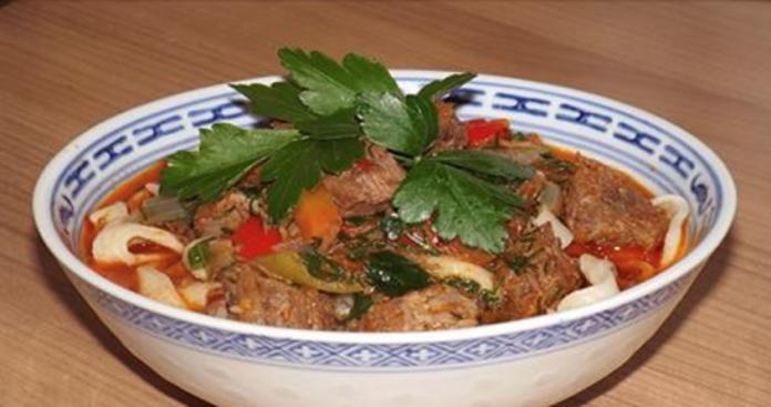 Рецепты лагман с говядиной с фото