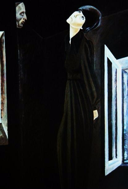 Игорь Обросов. Стихи. Портрет Беллы Ахмадулиной. 1977 (413x611, 109Kb)