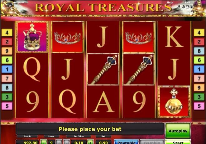 1. игровой автомат  Royal Treasures (661x463, 324Kb)
