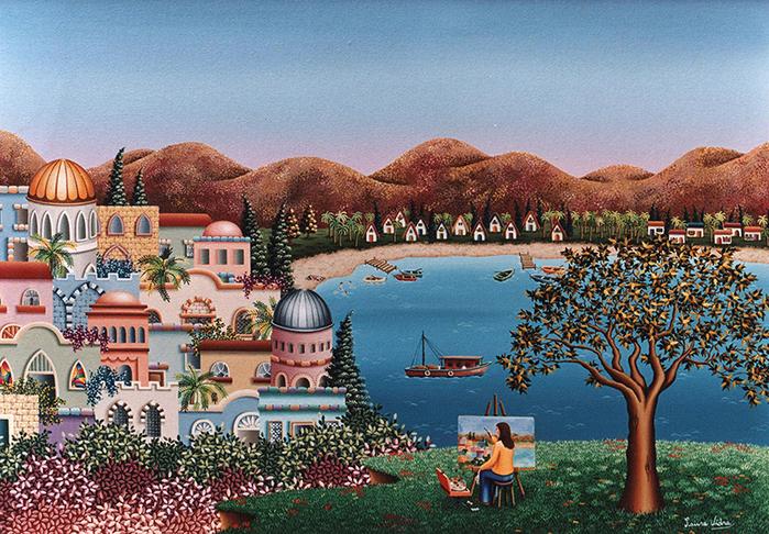 50-Pintando-el-lago-Kineret-70x50-cm (700x486, 610Kb)
