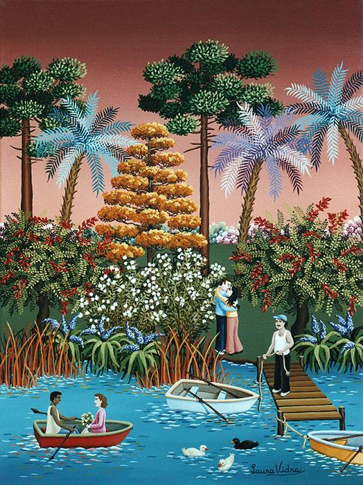 58-Enamorados-en-el-lago-de-Palermo-30x40-cm (524x700, 721Kb)