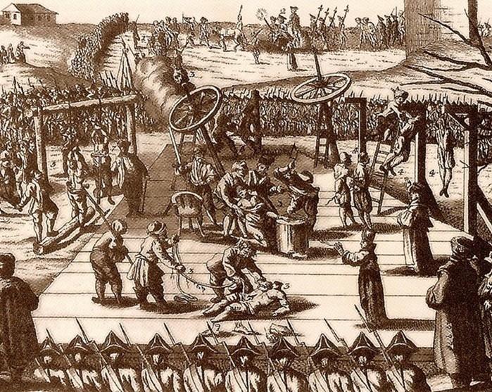 Виды казней в России: кого сажали на кол, а кого бросали в кипящее масло?