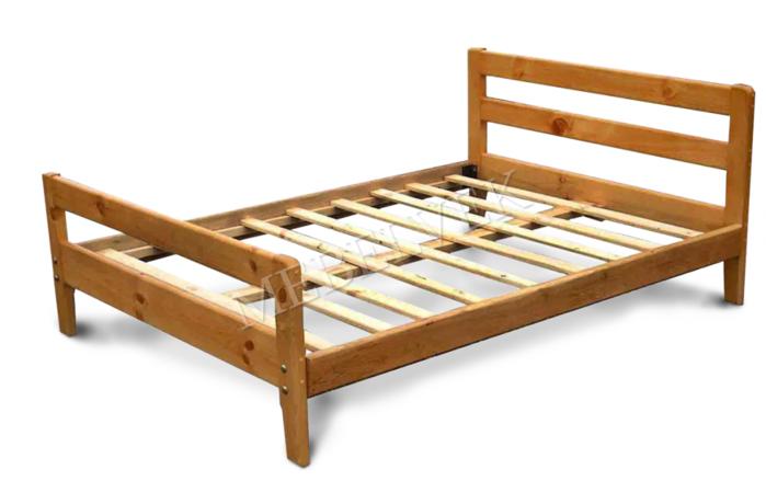 каркас кровать под матрас для двоих двуспальная деревянная из цельного масива дерева массива купить недорого дешево цена от производителя (700x460, 220Kb)