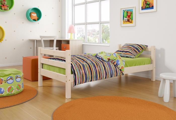 кровать детская из массива дерева купить недорого дешево  в интернет магазине от производителя фабрики кровать с матрасом (700x477, 331Kb)