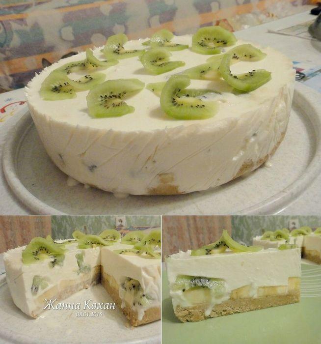 Торт банановый с картинками