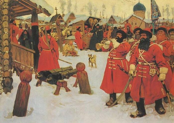 Стрельцы - силовики средневековой Руси