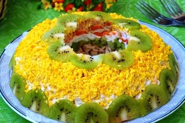 Салат малахитовый браслет рецепты простые и вкусные