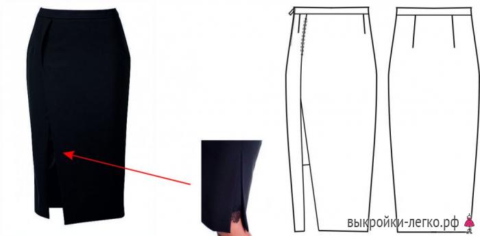 Юбки Карандаш Моделирование
