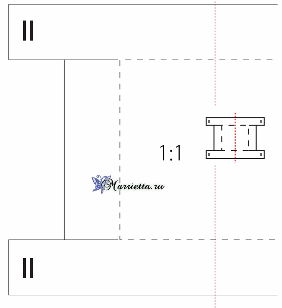 Корзинка из войлока, которую не нужно шить (4) (576x630, 62Kb)