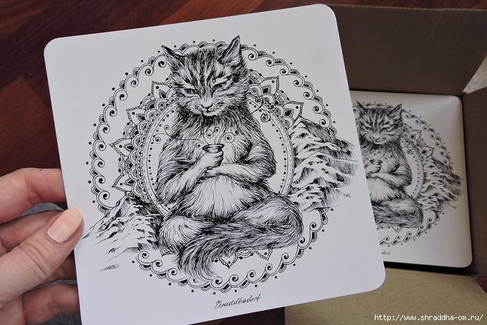 йога-Кот от Shraddha (5) (700x466, 286Kb)