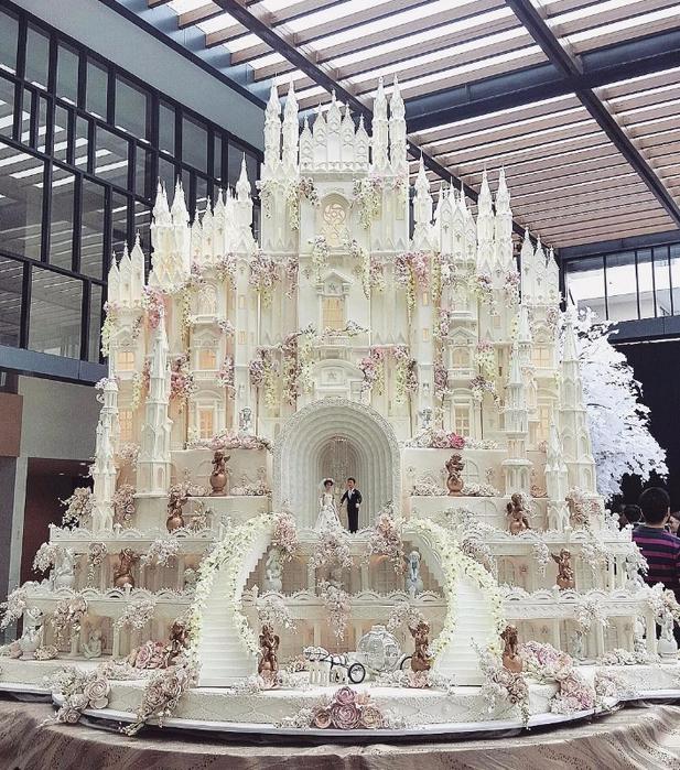 самые красивые свадебные торты 4 (617x700, 548Kb)