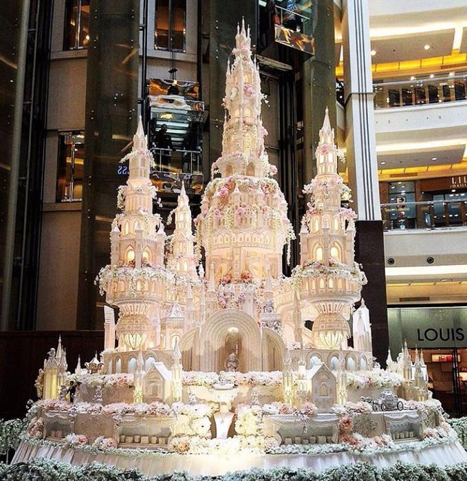 самые красивые свадебные торты 6 (679x700, 598Kb)