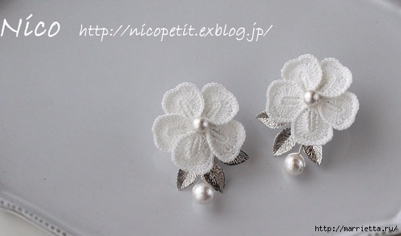 钩针:最温柔珍贵的假珠宝 - maomao - 我随心动