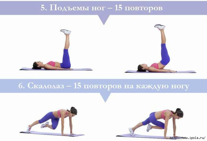 упражнения для сжигания жира женщин