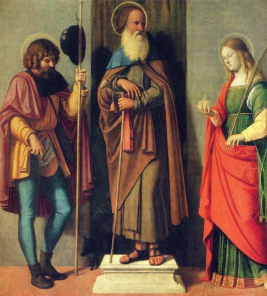 12 Чима де Конельяно Св. Рох, Антоний и Лючия (542x600, 326Kb)