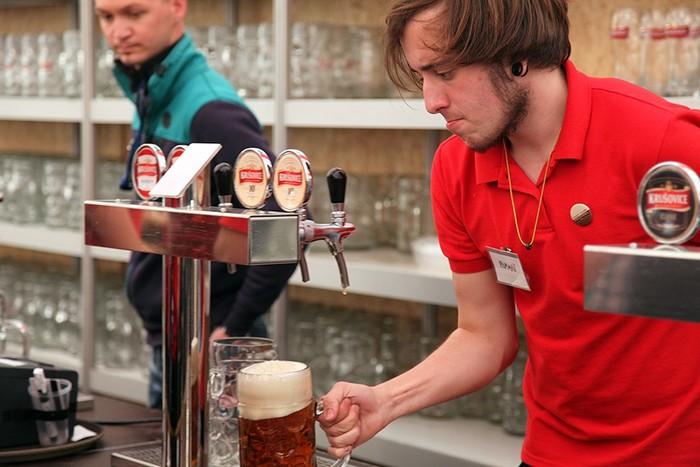 Чешский фестиваль пива в Москве