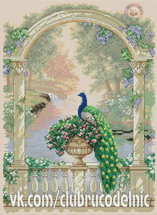 Majestic Peacock (510x700, 695Kb)