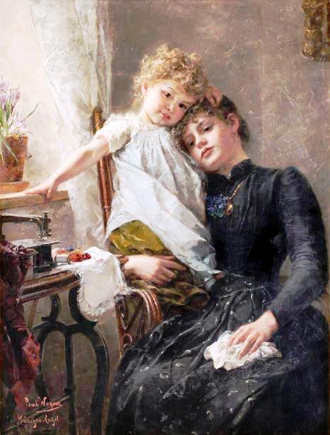 Художник Paul Hermann Wagner (467x615, 547Kb)
