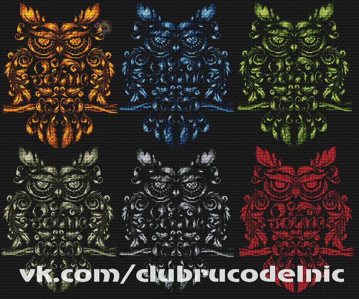 Fortune Owl (700x583, 638Kb)