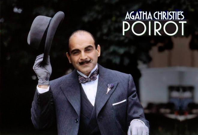 Сборник всех серий и сезонов детективного сериала Пуаро Агаты Кристи или как провести выходные, когда за окном дождь.