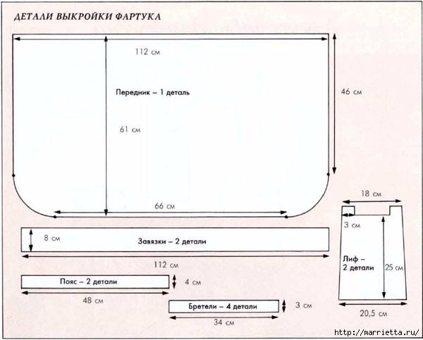 Шьем фартук, прихватку и чехол для тостера (6) (600x483, 103Kb)
