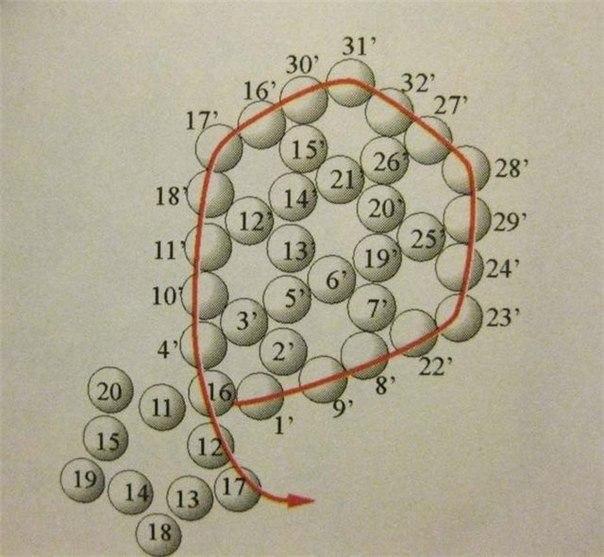 работа с бисером, шитье, вазоние 1в (604x557, 222Kb)