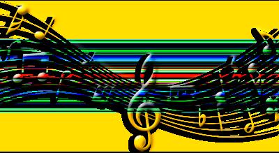 музыка ноты (4) (400x219, 78Kb)
