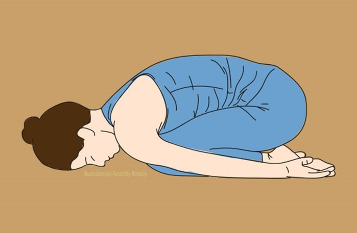 Несколько приемом расслабления спины, чтобы быстрее заснуть