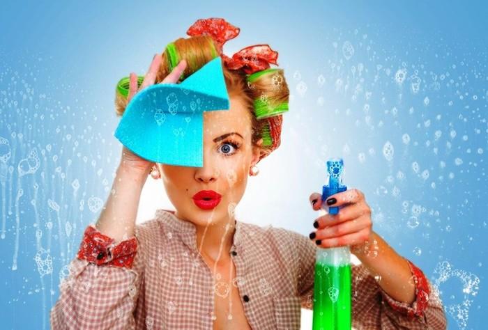 Безвредная уборка дома с натуральными моющими средствами!