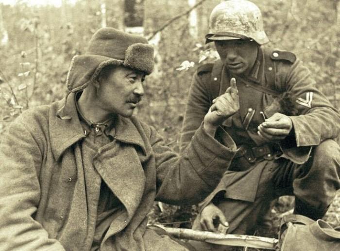 Как общались во время войны советские и немецкие солдаты