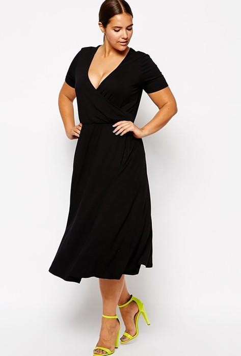 Стильные фасоны: 6 правил выбора платья для полных девушек