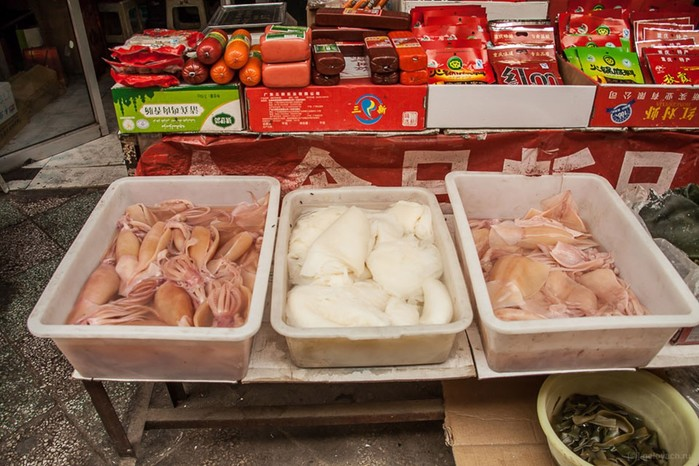 Как устроен типичный китайский рынок (фотографии)