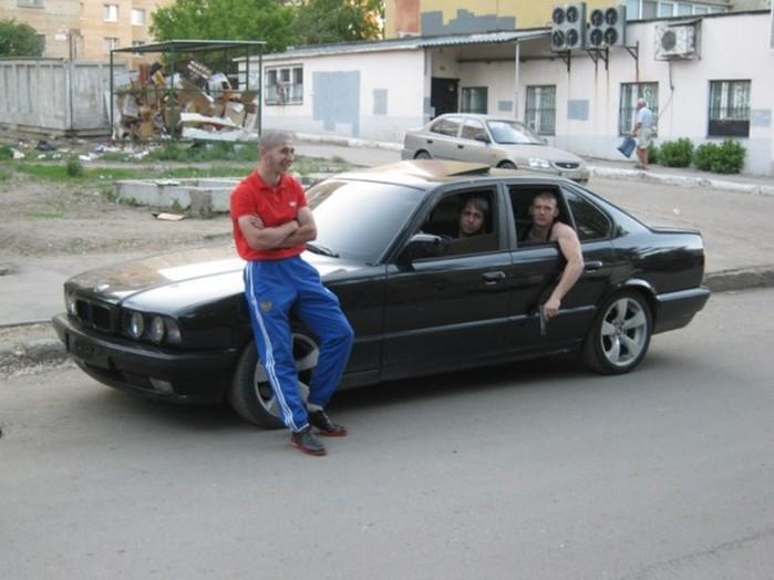 Арсенал российского бандита 1990-х