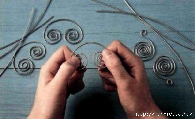 Плетем из проволоки. Как сделать мавританский абажур (5) (403x247, 55Kb)