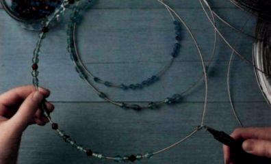 Плетем из проволоки. Как сделать мавританский абажур (7) (396x240, 65Kb)