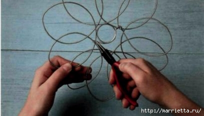 Плетем из проволоки. Как сделать мавританский абажур (11) (408x233, 51Kb)