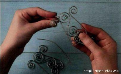 Плетем из проволоки. Как сделать мавританский абажур (13) (407x250, 53Kb)