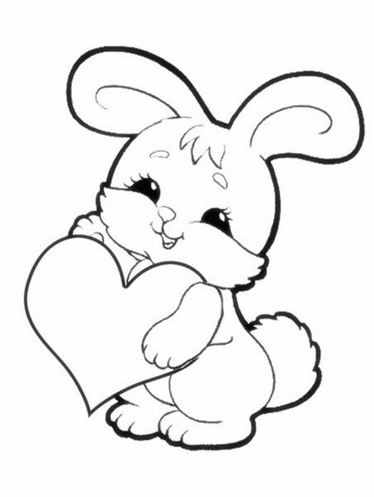 Детские раскраски с животными