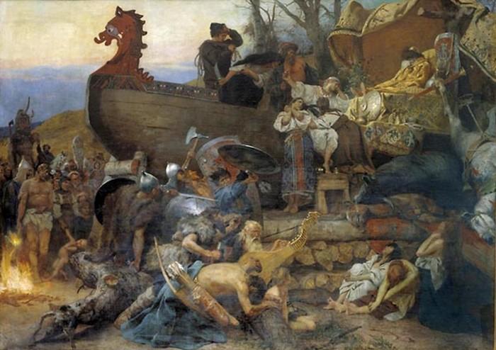 Многоженство и гаремы у славян
