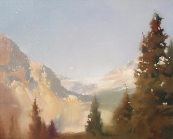 Скалистые горы пробуждение (600x480, 177Kb)
