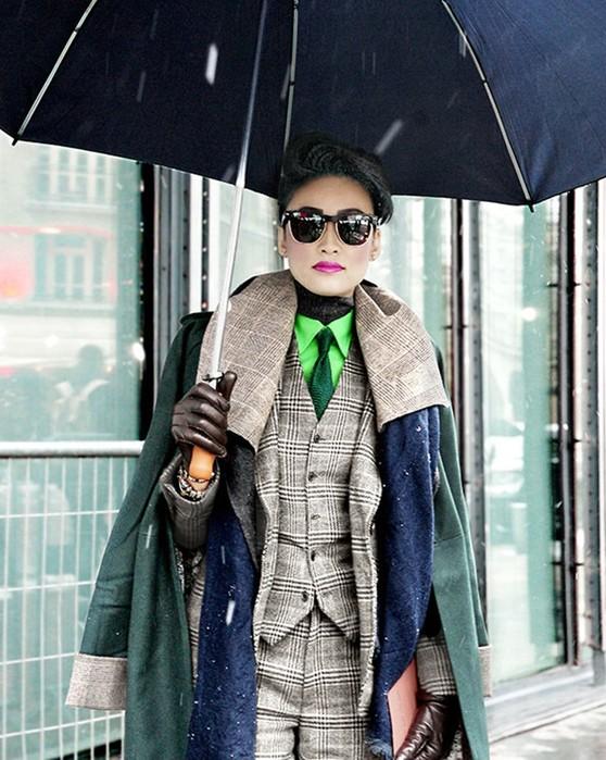 Мужское для женщин: красавицы в одежде мужского стиля