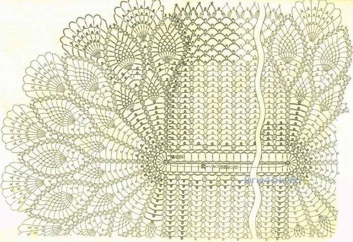 схема овальной салфетки/3071837_kru4okruovalnayasalfetkarabotaoksanyfedotovoy17459 (700x481, 315Kb)